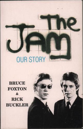 The Jam The Jam  Our Story 1993 UK book 189814110X