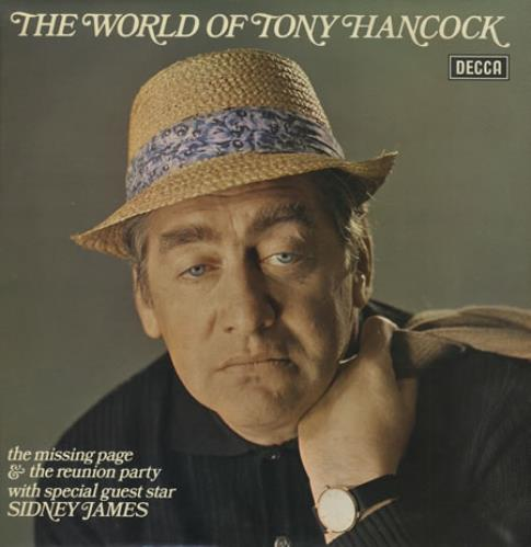 Tony Hancock The World Of Tony Hancock 1976 UK vinyl LP PA417