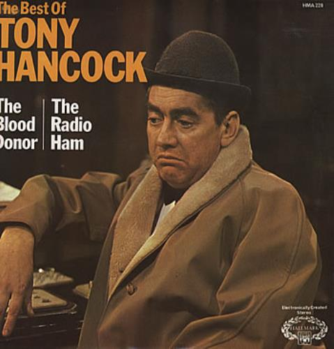Tony Hancock The Best Of Tony Hancock 1975 UK vinyl LP HMA228