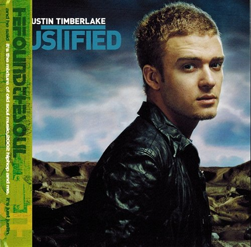Justin Timberlake Justified + Poster 2002 Japanese CD album ZJCI-10100 lowest price