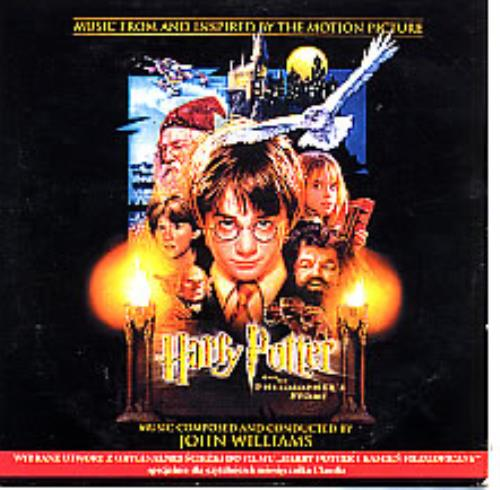 Harry Potter Harry Potter And The Philosophers Stone 2001 Polish CD single 012111