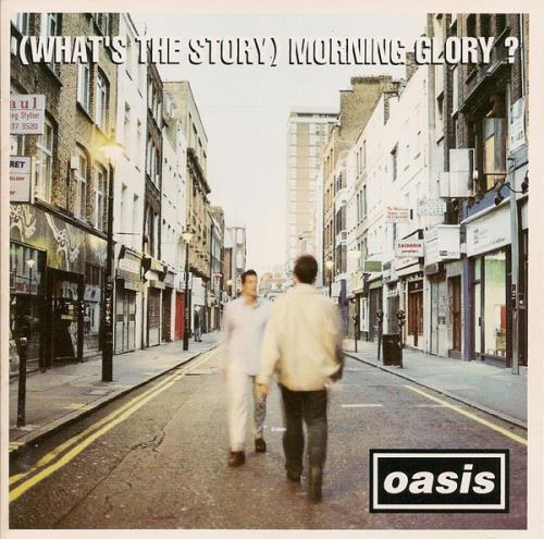 Oasis (Whats The Story) Morning Glory 1995 UK CD album CRECD189