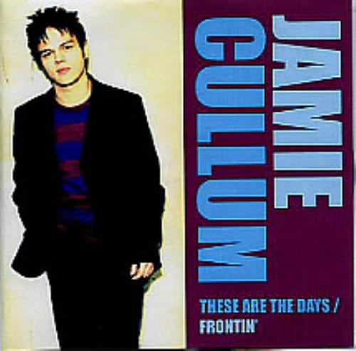 Jamie Cullum These Are The DaysFrontin 2004 UK CDR acetate CDR ACETATE