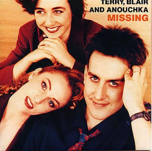 Terry Blair and Anouchka Missing 1989 UK 7 vinyl CHS3381
