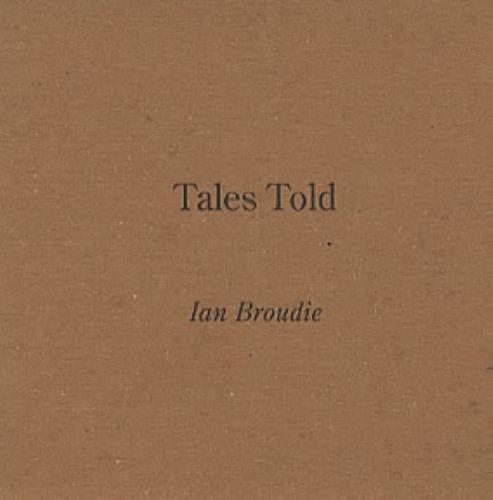 Ian Broudie Tales Told 2004 UK CD album XPCD2691