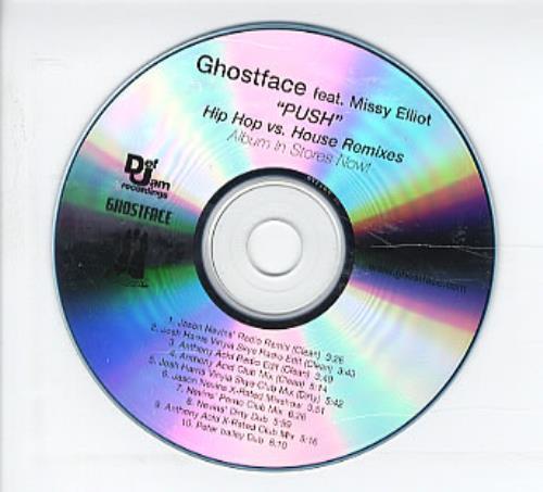 Missy Misdemeanor Elliott Push  Hip Hop Vs. House Remixes 2004 USA CDR acetate CDR ACETATE