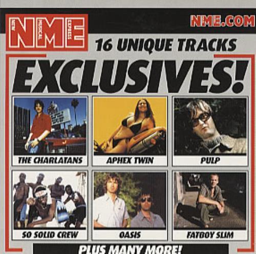 Oasis Rock N Roll Star (Live) 2001 UK CD album NME EX 61001