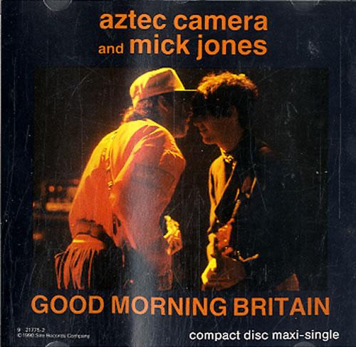 Aztec Camera Good Morning Britain 1990 USA CD single 9217752