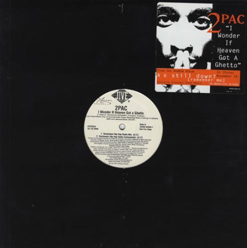 2 Pac I Wonder If Heaven Got A Ghetto 1997 USA 12 vinyl JDAB425001