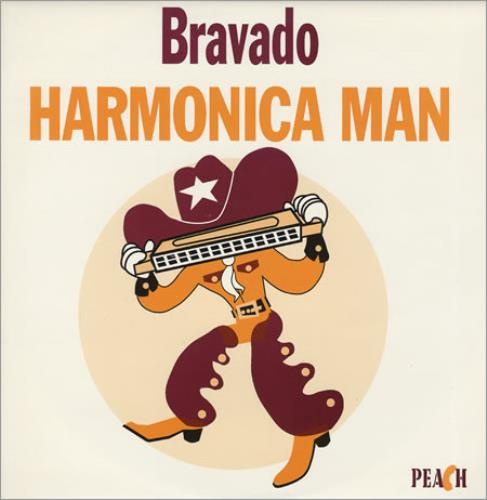 Bravado Harmonica Man 1994 UK 12 vinyl PEACH5