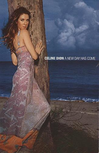 Celine Dion A New Day Has Come 2002 Mexican memorabilia POSTCARD