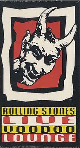 Rolling Stones Live Voodoo Lounge 1994 USA video PROMO VIDEO