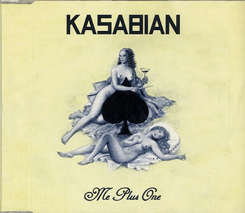 Kasabian Me Plus One 2007 UK 2CD single set PARADISE4748