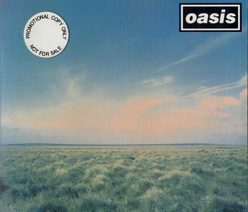 Oasis Whatever 1994 UK CD single CRESCD195P