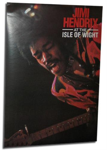 Jimi Hendrix Set Of Two Posters 1990 UK poster