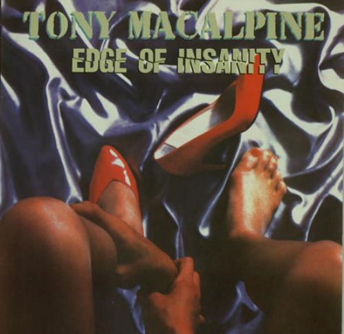 Tony MacAlpine Edge Of Insanity  High Heels ps 1986 Dutch vinyl LP RR9706