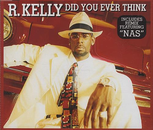 R Kelly Did You Ever Think 1999 UK CD single 0523612