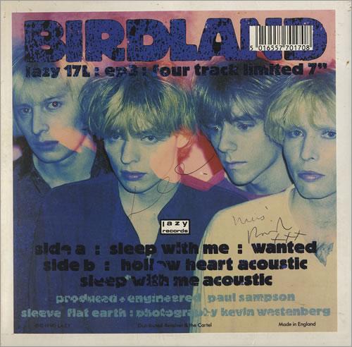 Birdland Sleep With Me 1990 UK 7 vinyl LAZY17L