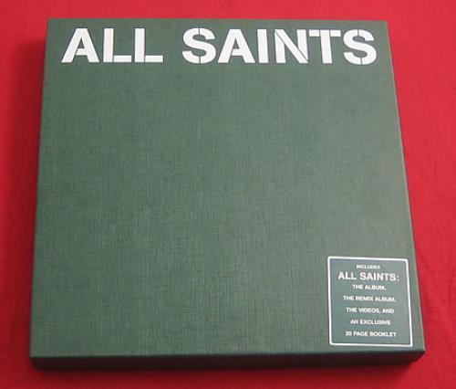All Saints All Saints  CD Version 1998 UK cd album box set BOX SET