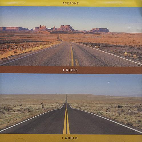 Acetone I Guess I Would 1995 UK CD album HUTMCD21