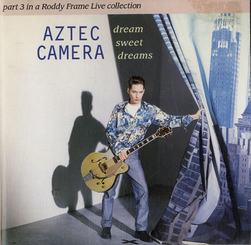 Aztec Camera Dream Sweet Dreams 1993 UK CD single YZ740CD1