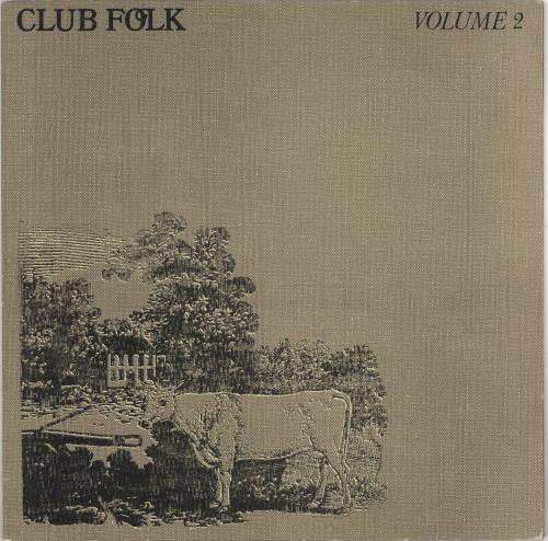VariousFolk Club Folk Volume 2 1972 UK vinyl LP PS3