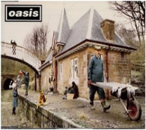 Oasis Some Might Say 1995 UK CD single CRESCD204P