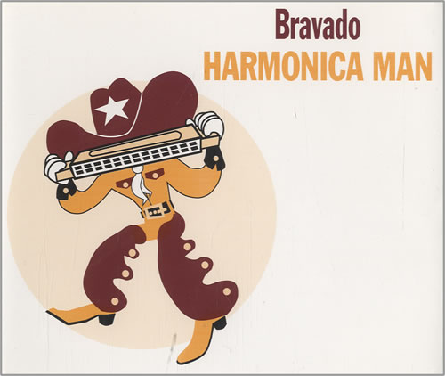 Bravado Harmonica Man 1994 UK CD single PEACHCD5