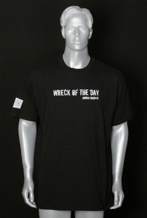 Image of Anna Nalick Wreck Of The Day 2005 USA t-shirt PROMO T-SHIRT