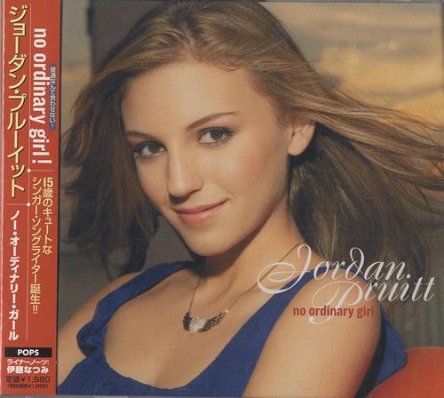 Jordan Pruitt No Ordinary Girl 2007 Japanese CD album AVCW13086