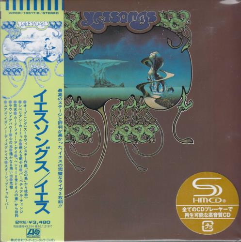 Yes Yessongs 2009 Japanese SHM CD WPCR135178