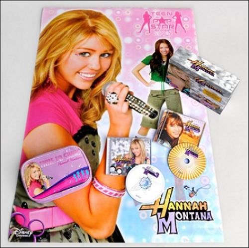 Hannah Montana Hannah Montana Singalong 2CD XMas Fan Box 2009 UK 2CD album set 3062812
