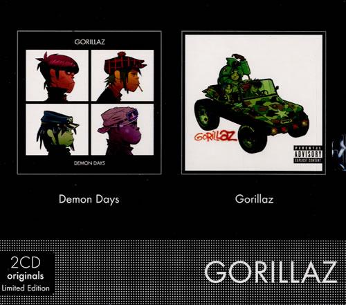 Gorillaz 2CD Originals  Sealed 2009 French 2CD album set 6843322