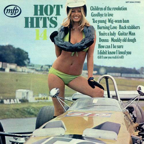 Hot Hits Hot Hits 14 1972 UK vinyl LP MFP50044