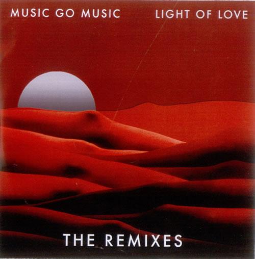 Music Go Music Light Of Love  The Remixes 2010 UK CDR acetate CDR