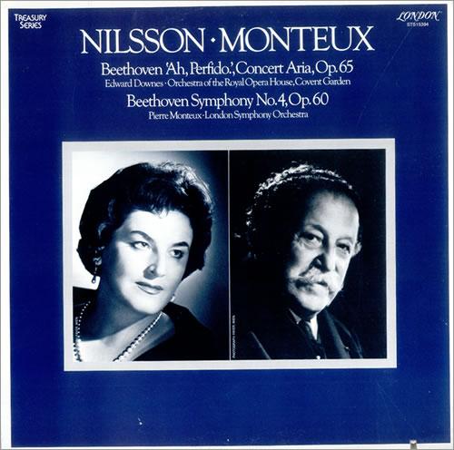 Ludwig Van Beethoven Ah Perfido! Op. 65  Symphony No 4 Op. 60 1979 USA vinyl LP STS15394
