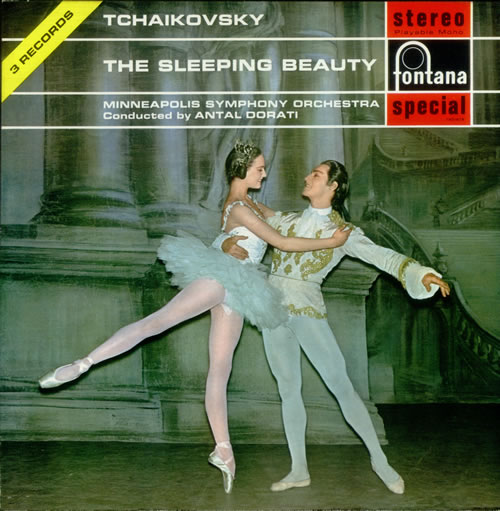 Pyotr Ilyich Tchaikovsky The Sleeping Beauty 1968 UK vinyl box set SFL140168