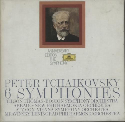 Pyotr Ilyich Tchaikovsky 6 Symphonies 1973 German vinyl box set 272006510