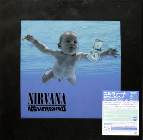 Nirvana (US) Nevermind  Super Deluxe Edition  Sealed 2011 Japanese box set UICY75124