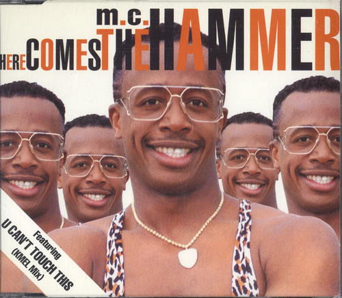MC Hammer Here Comes The Hammer 1991 UK CD single CDCL610