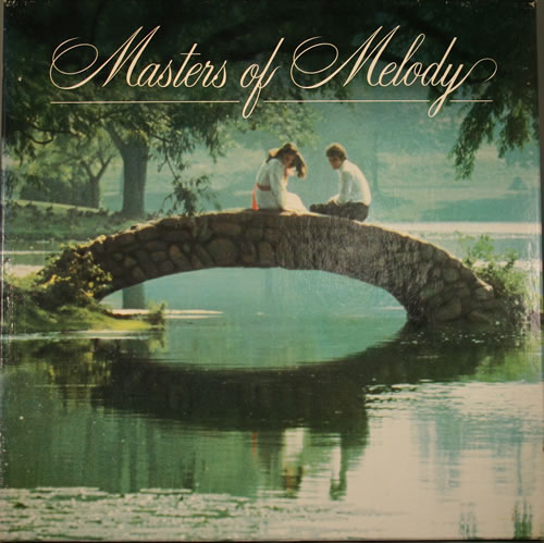 VariousEasy Listening Masters Of Melody 1987 UK vinyl box set GMOMA175