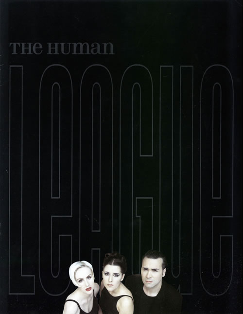 Human League The Human League  1995 Tour  ticket stub 1995 UK tour programme PROGRAMME  TICKET