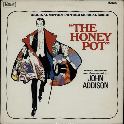 John Addison The Honey Pot 1967 UK vinyl LP SULP1161