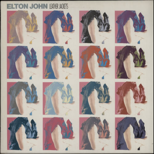 Elton John Leather Jackets  promo stamped 1986 UK vinyl LP EJLP1