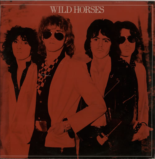 Wild Horses Wild Horses  Autographed 1980 UK vinyl LP EMC3326