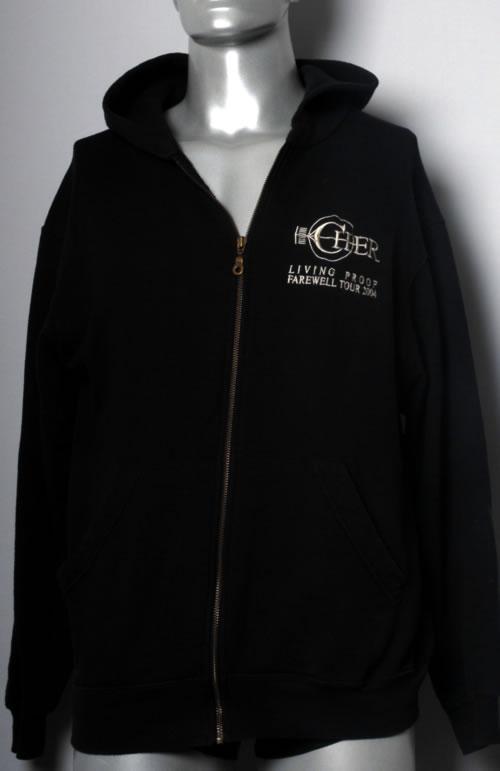 Cher Living Proof  Farewell Tour 2004 2004 UK jacket HOODED SWEATSHIRT
