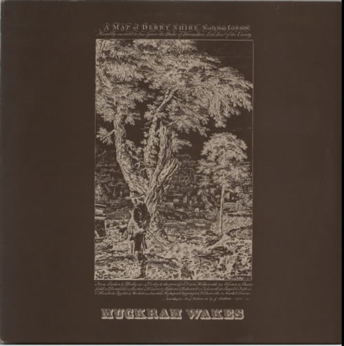 Muckram Wakes A Map Of Derbyshire 1973 UK vinyl LP LER2085