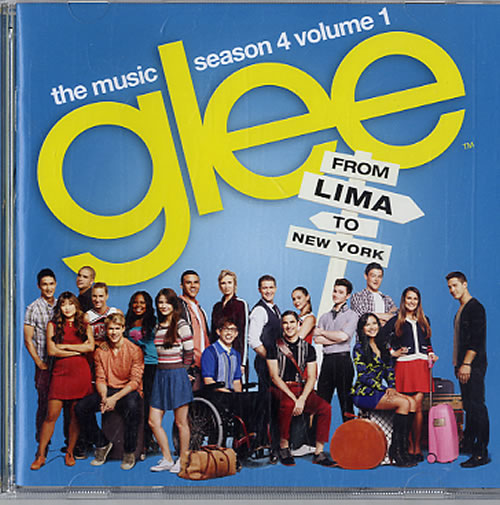 Glee Glee The Music Season 4 Volume 1 2012 UK CD album 88765429672