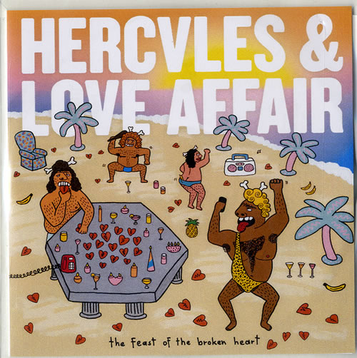 Hercules And Love Affair The Feast Of The Broken Heart 2014 UK CDR acetate CDR