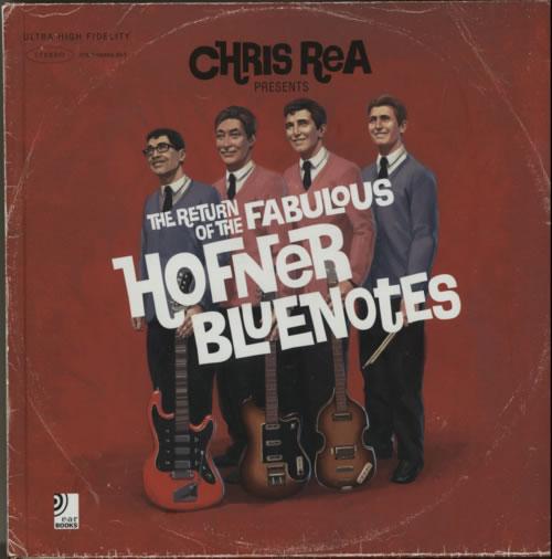 Chris Rea The Return Of The Fabulous Hofner Bluenotes 2009 UK book 9783940004505